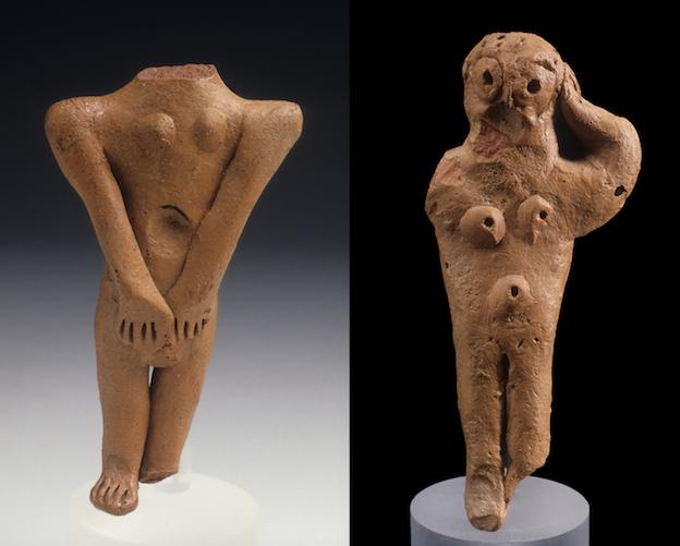 Fig. 3. Votive figurines from Neapolis, Sardinia. Image courtesy of Bardi Editore, Rome.