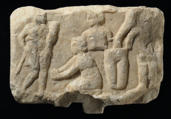 Fig. 4. Votive relief from the Asklepieion at Athens. Image courtesy of the Acropolis Museum, Athens.