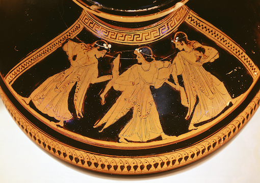 Fig. 5 Attic red-figure vase showing the dismemberment of Pentheus. Image courtesy of bipk/Antikensammlung, Staatliche Museen zu Berlin (photo: Johannes Laurentius).