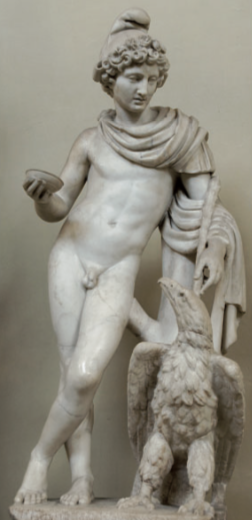 Figure 6. Second-century AD statue group of Ganymede and the Eagle. Vatican Museums.