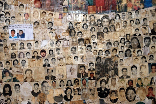 """A composite at the Remedios basilica, from Frank Graziano's book """"Miracles in Mexico"""". See http://miracles-in-mexico.com"""