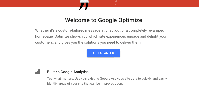 sign in google optimize