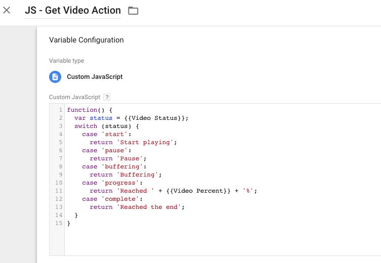 custom javascript variables