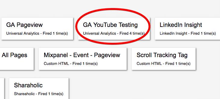 preview and debug tag