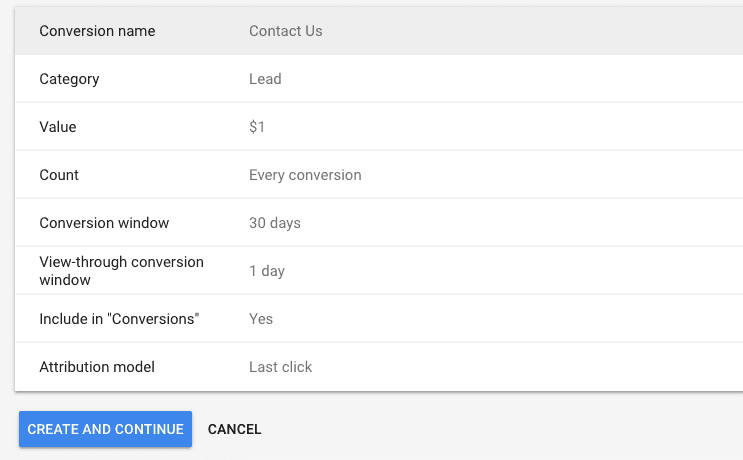form submission conversion