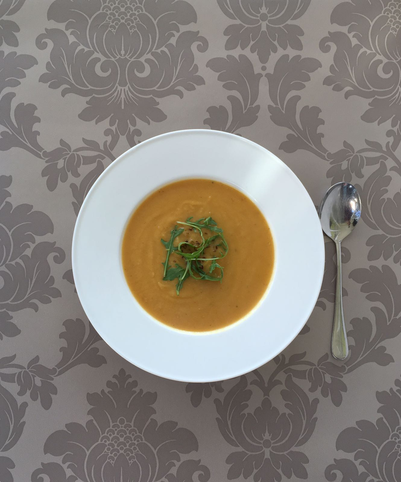Spiced Parsnip Soup - full of natural anti inflammatory properties and spices to warm the cockles of your heart