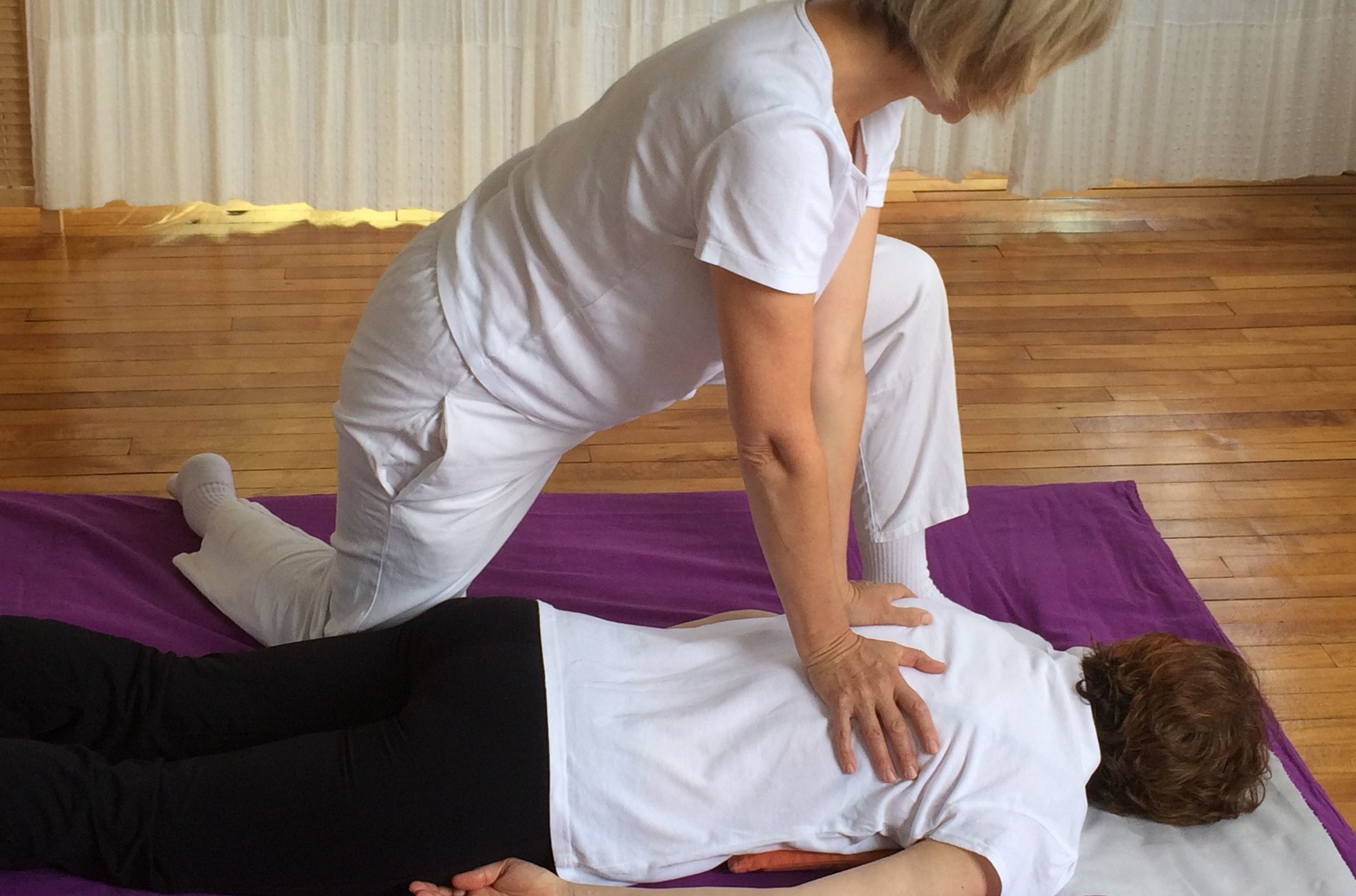 Shiatsu Massage - A deeply relaxing and extremely effective treatment using therapeutic touch. It encourages the body's natural ability to repair, rebalance and integrate mind and body for positive change and improved quality of life