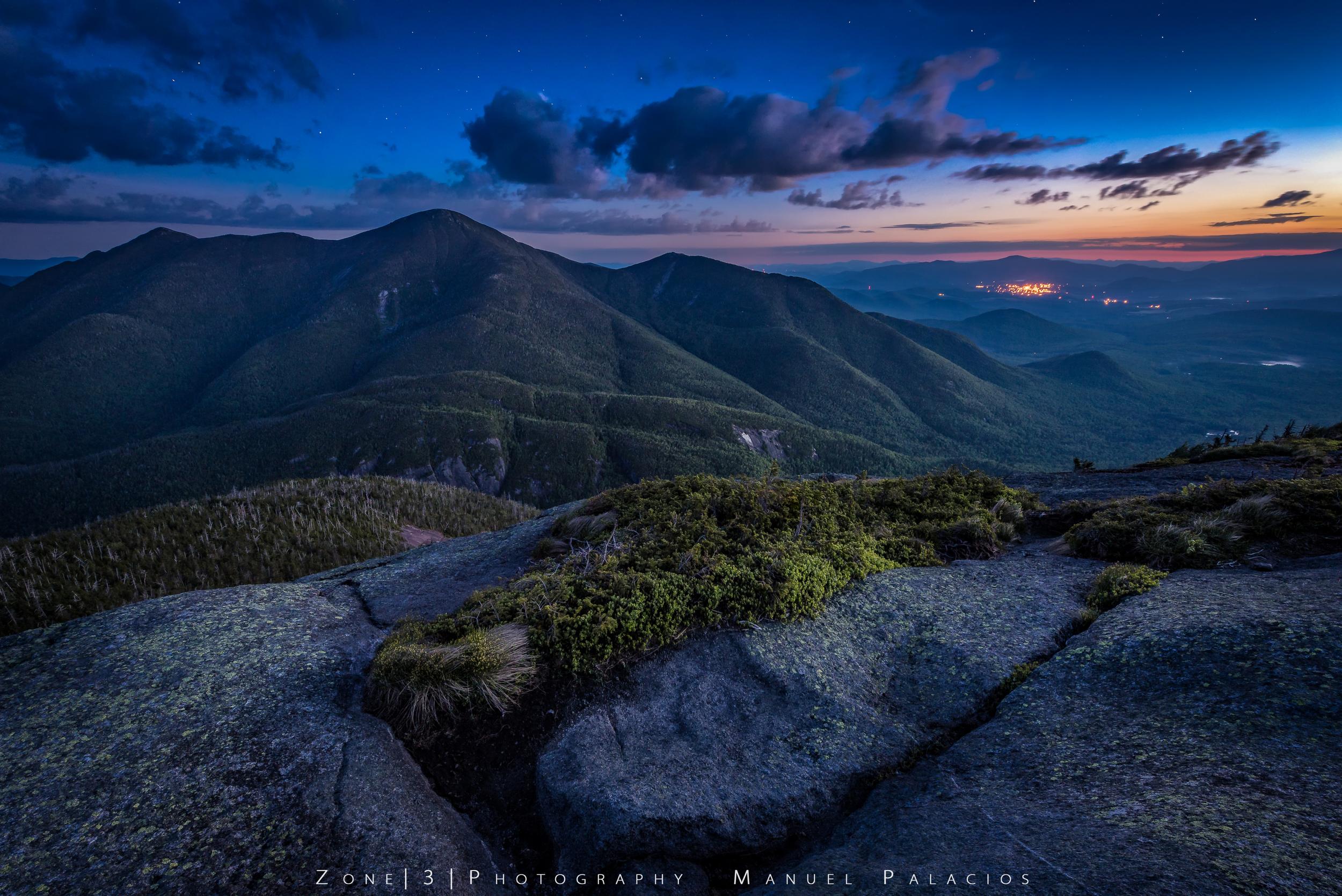 The McIntyre Range Twilight - Colden Mt, Adirondacks NY
