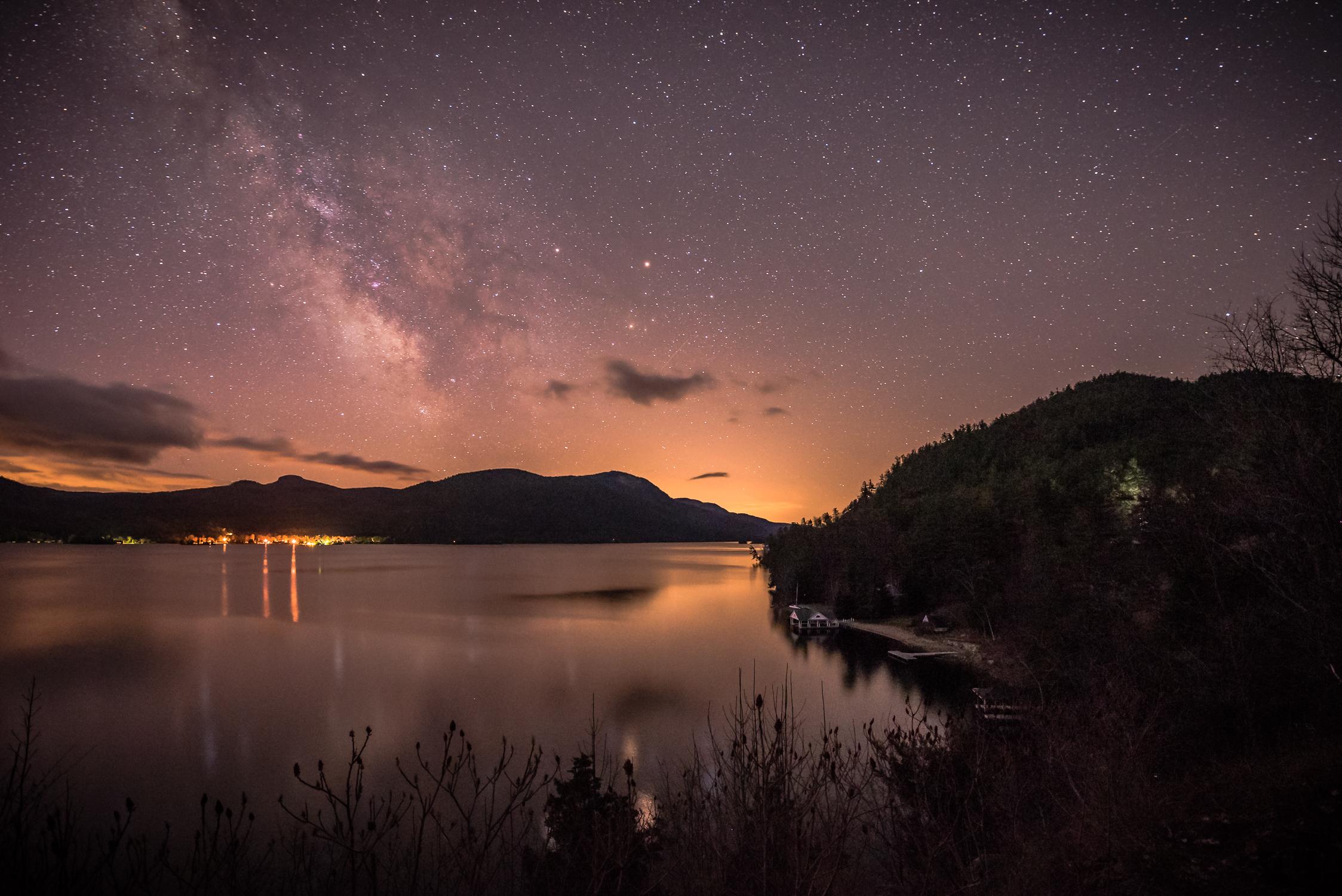 """A New Day"" Lake George, Adirondack State Park, New York."