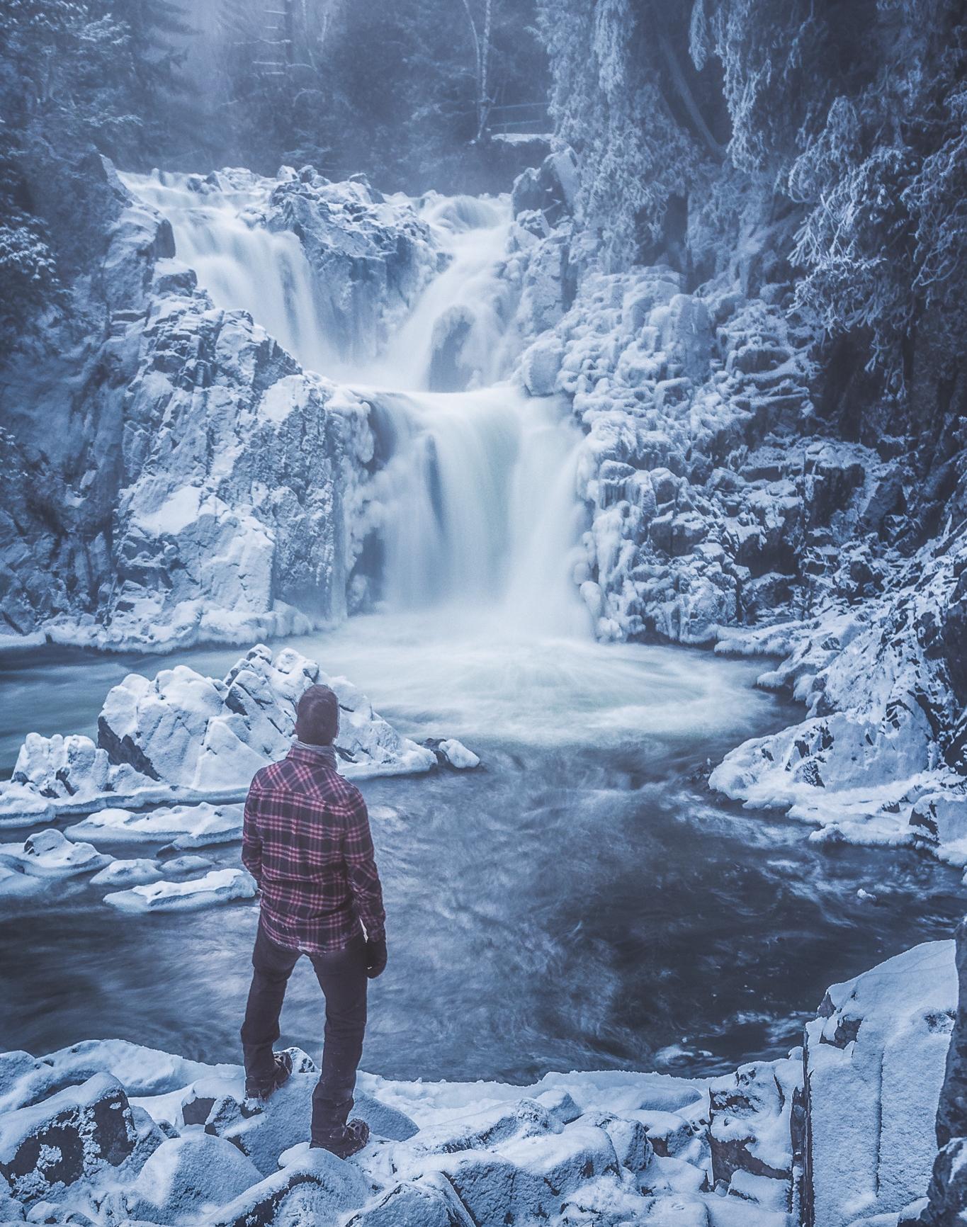 Split Rock Falls, Adirondack State Park NY.