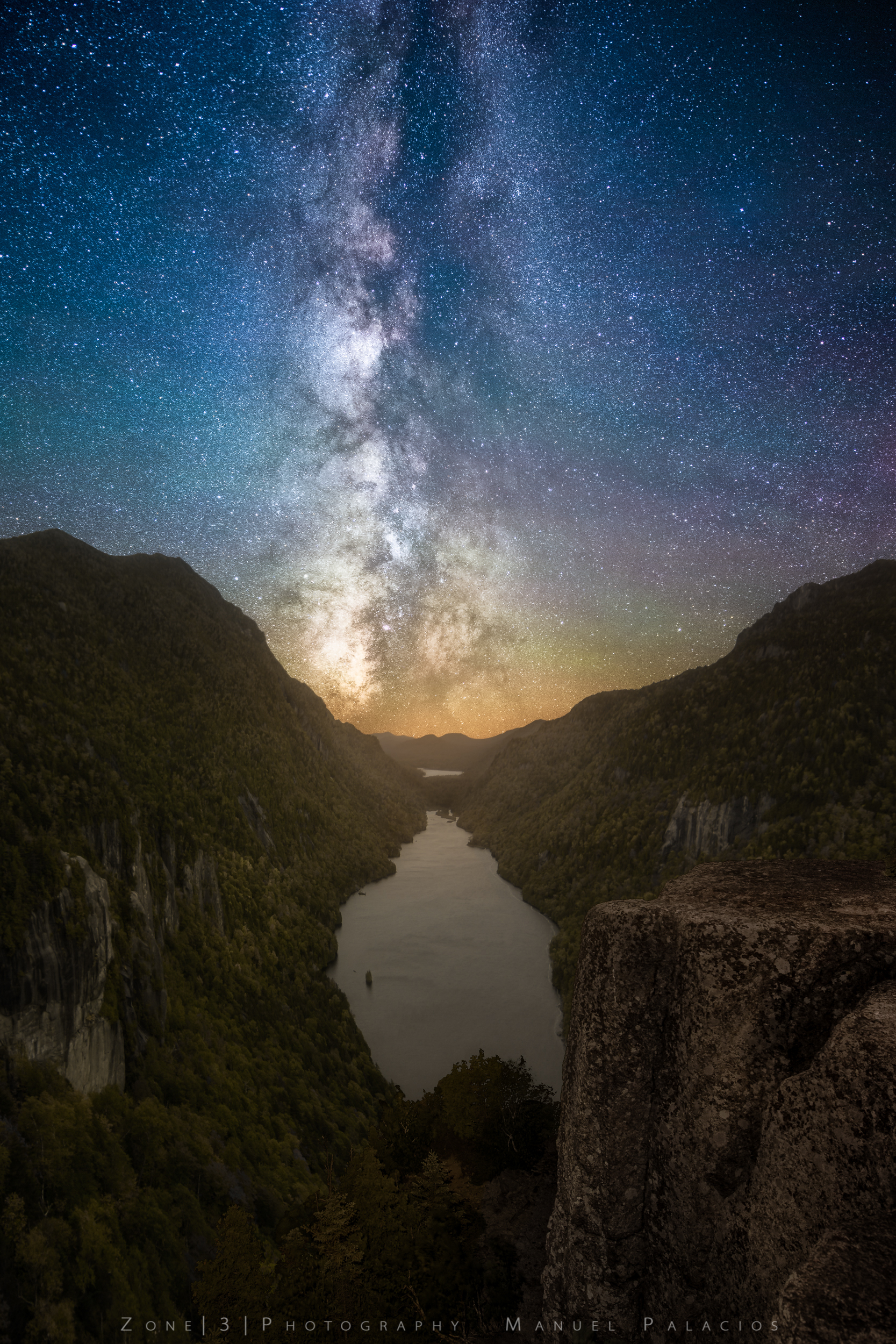 A Starry Night Over Indian Head, New York.