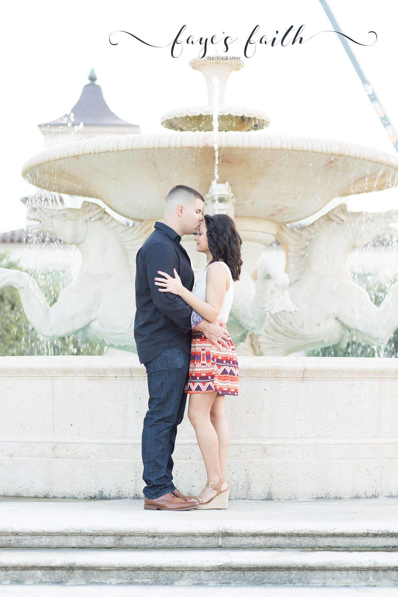 Worth ave engagement session