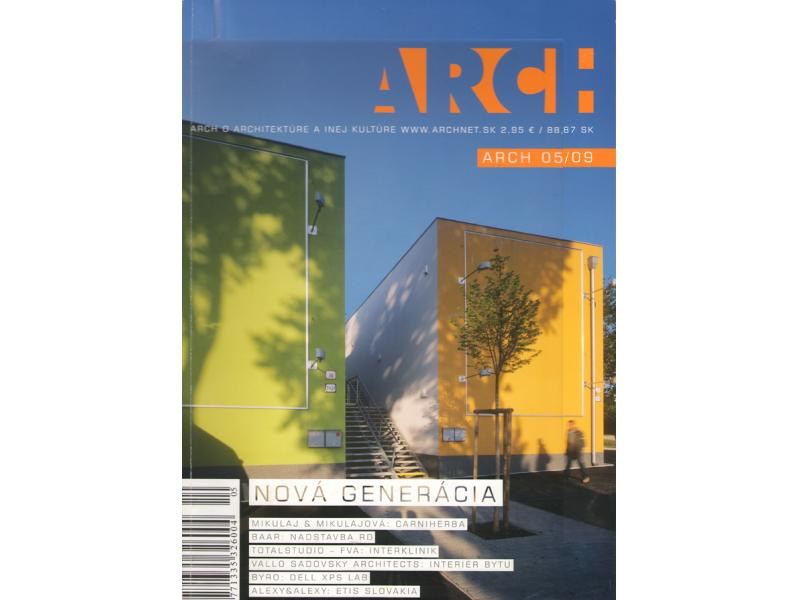 ARCH 05/2009 - ARCHITEKTI mikulaj & mikulajová v rozhovore s H. Moravčíkovou