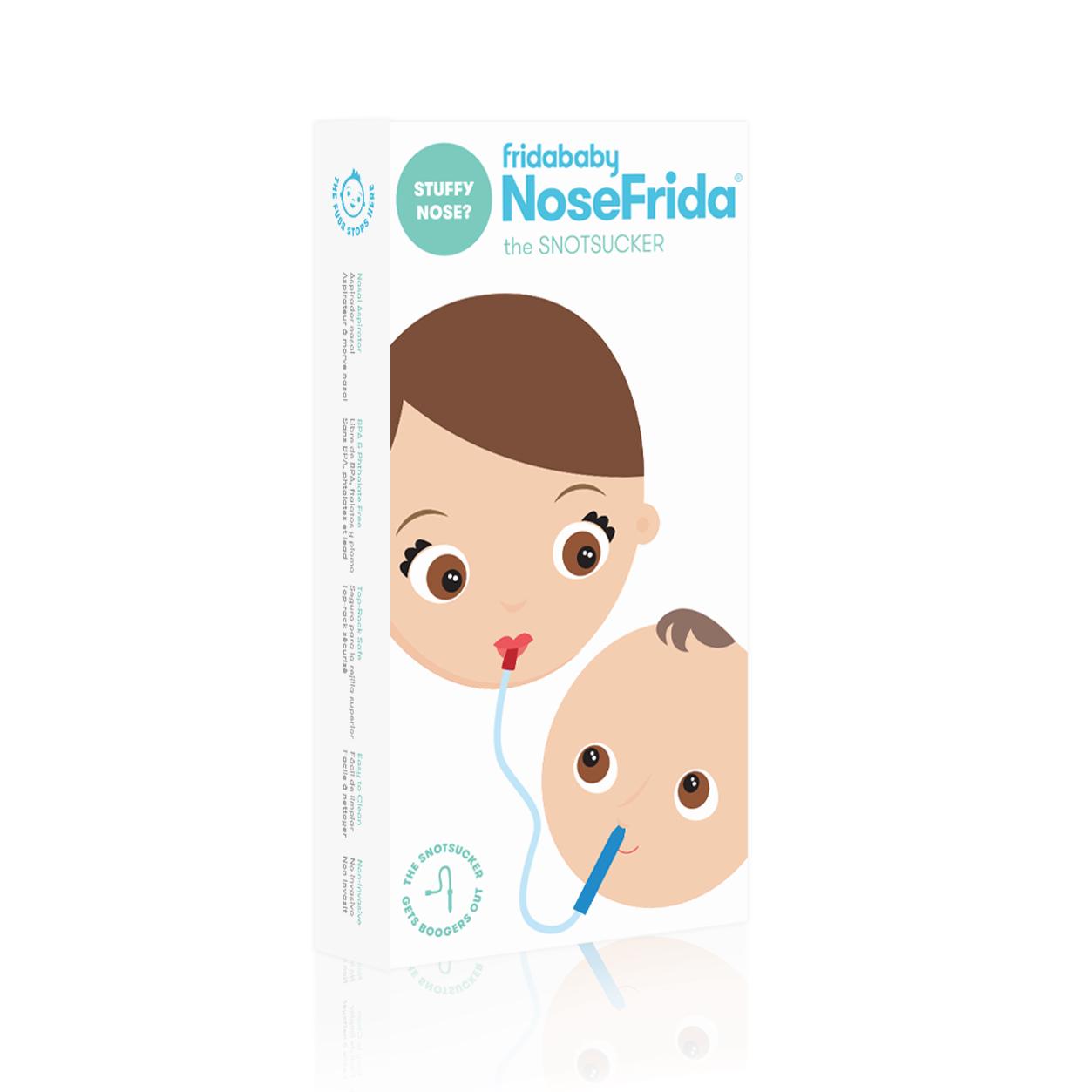The best snotsucker in the world. NoseFrida by FridaBaby