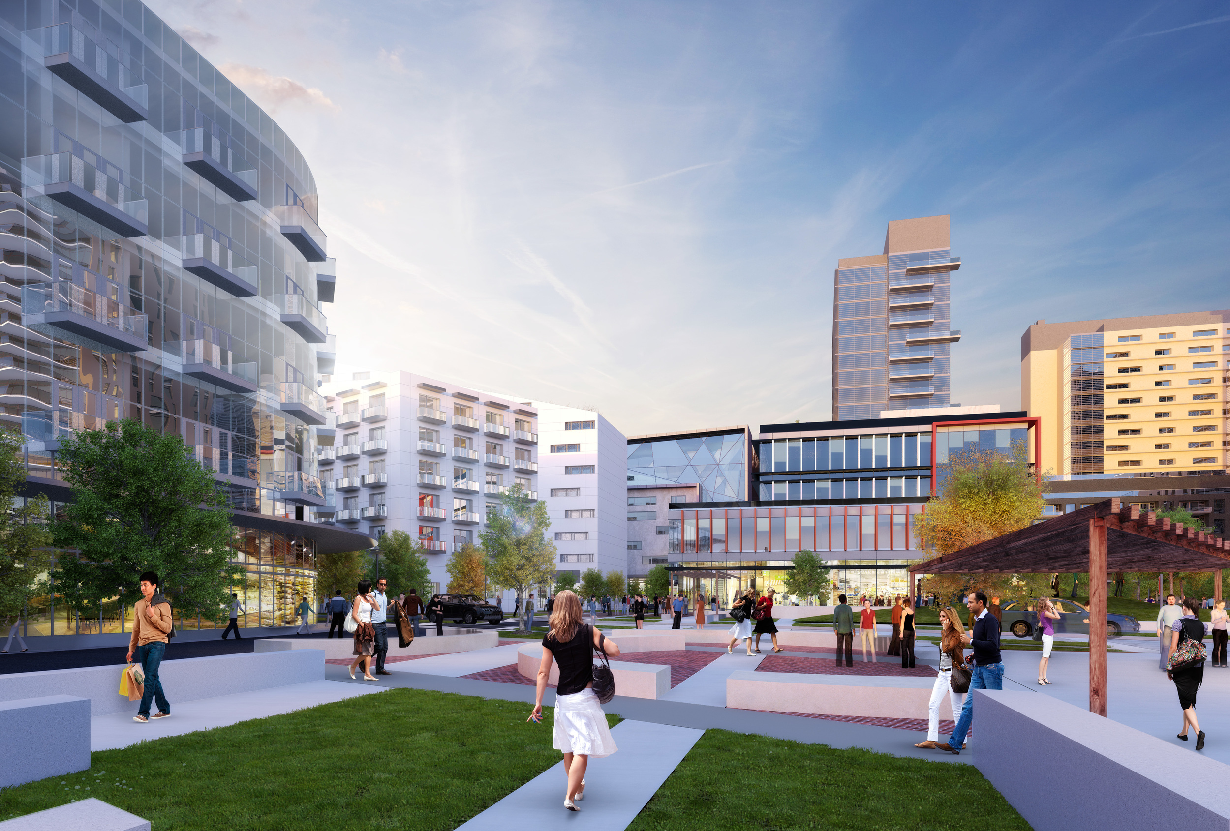 Lechmere Square Rendering