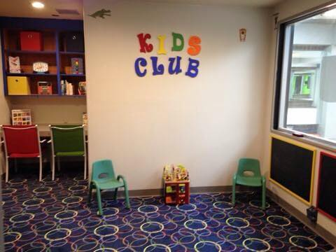 Kids Club usage is included in your membership!