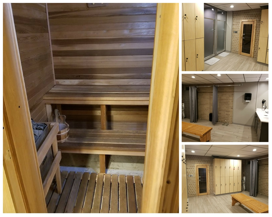 - Locker rooms include: showers, lockers and a dry sauna! Your membership includes usage of the Sauna, no need to pay additional!