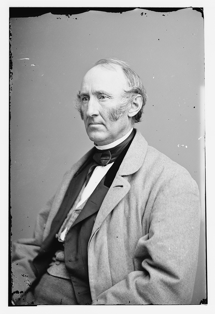 Daguerreotype of Wendell Phillips , between 1855 and 1865. Photograph by Mathew B. Brady Brady-Handy Collection, Library of Congress Prints and Photographs Division