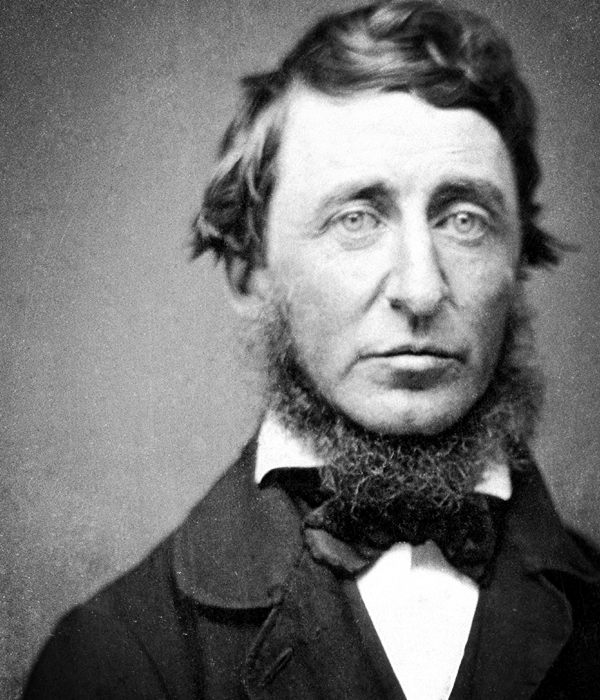 Henry David Thoreau. National Portrait Gallery, Washington
