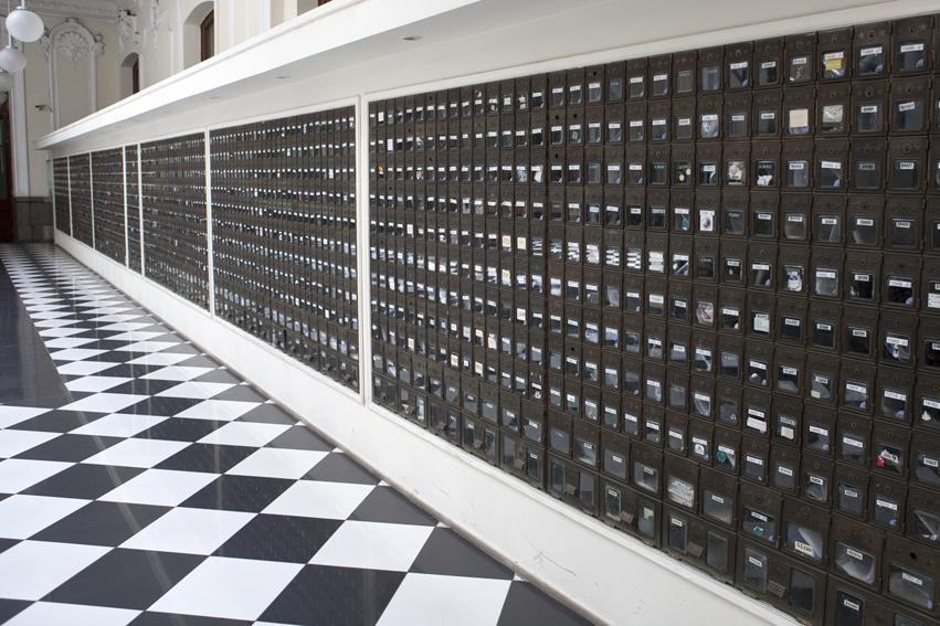 Edificio de Correos de Chile, Plaza de Armas, Santiago