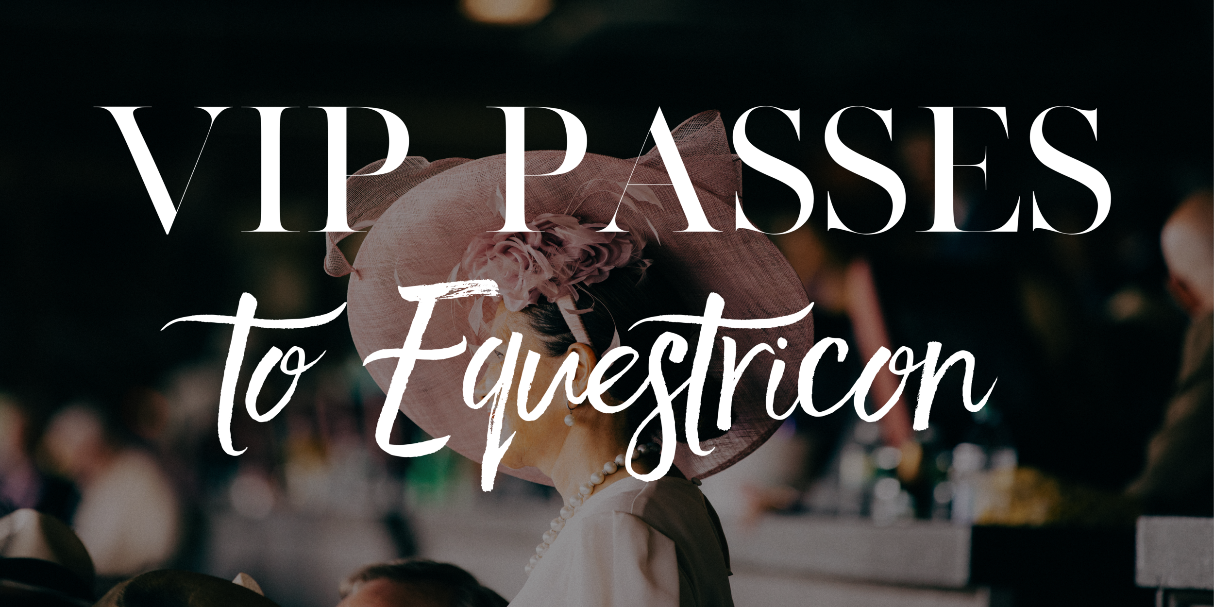 VIP Passes Equestricon