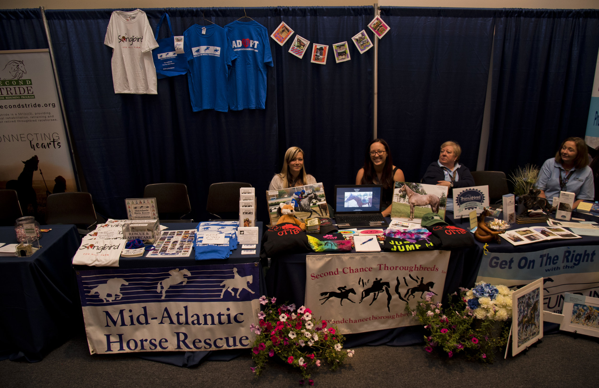 TAA-accredited aftercare organizations rotated throughout Equestricon 2017 in the TAA Aftercare Hub (Eclipse Sportswire)