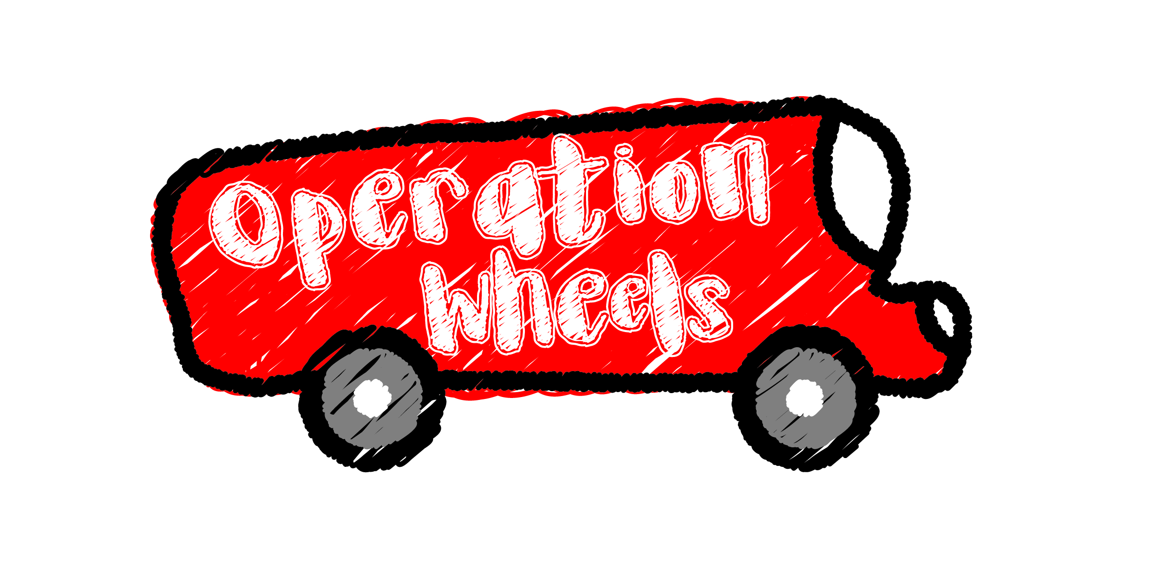 Operation Wheels. - A kid-helping-kid refugee mission project.