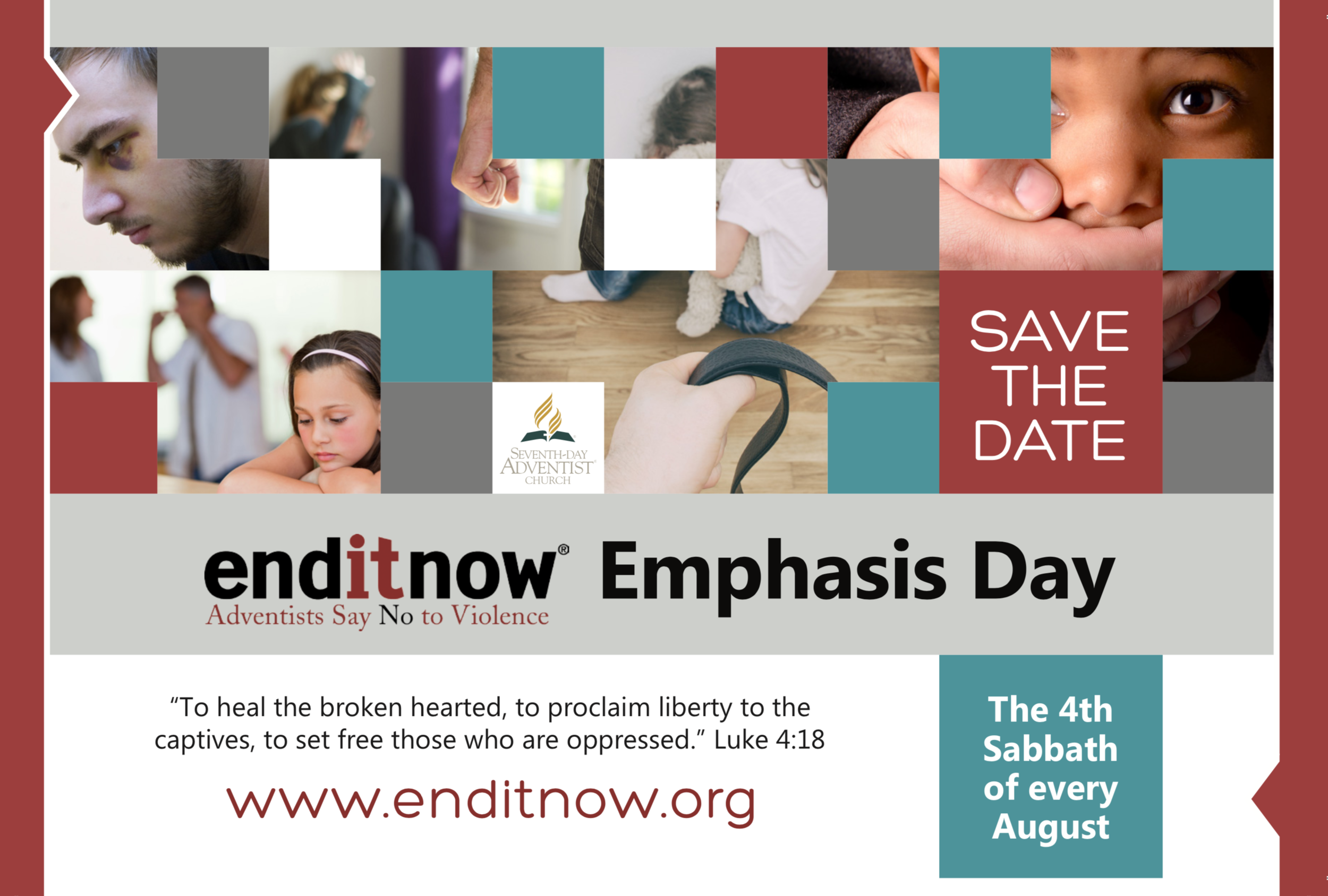 Click on the post card for more information on End It Now!