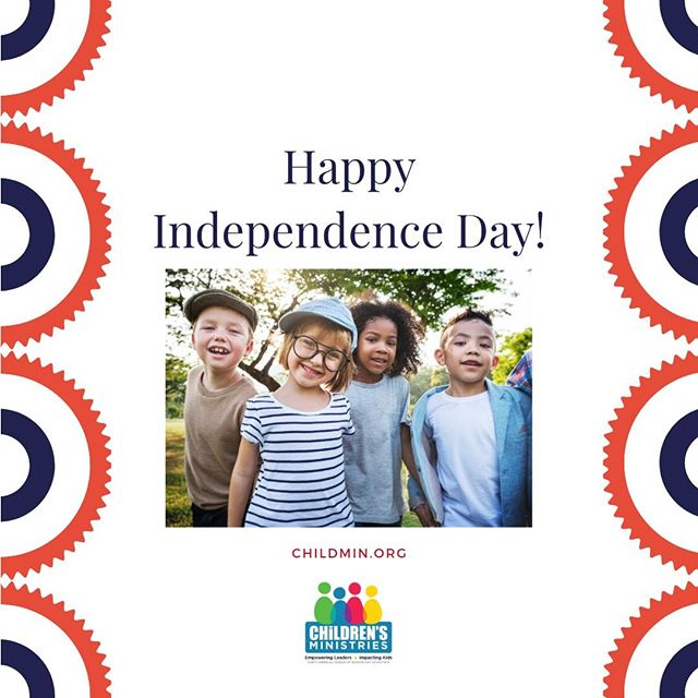 Happy 4th of July! #Childmin #Kids #Children #SummerTime #SummerFun #4thofJuly #Fourthofjuly #independenceday #parenting #kidmin #childmin #kiddos #fun