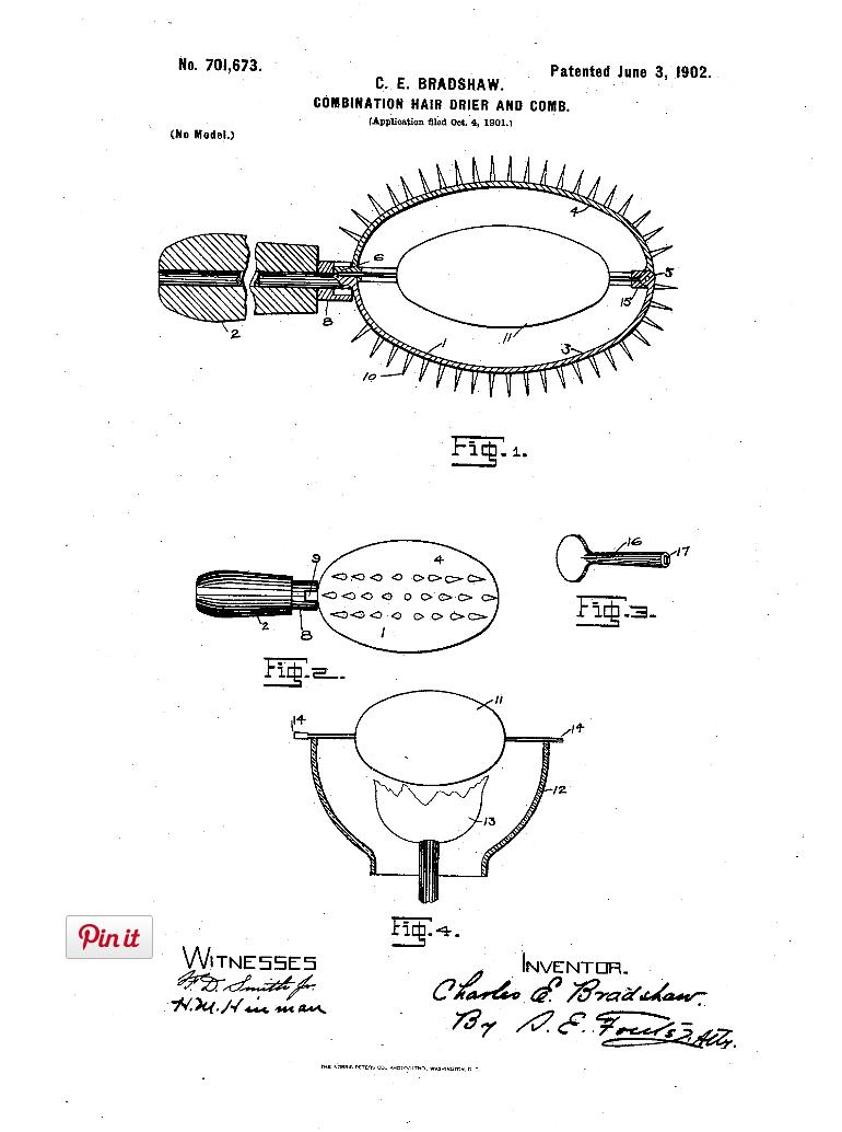 U.S. Patent US701673 A, filed 1901