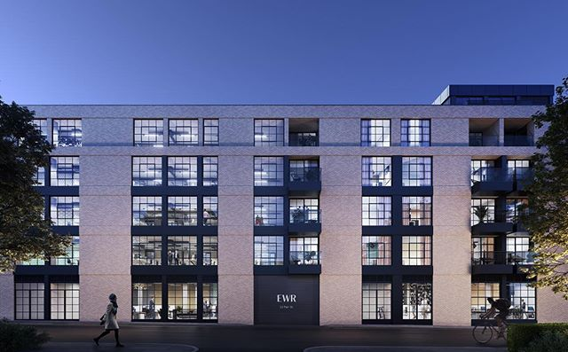 Eagle Wharf Road Islington commercial office space and residential #london #property #cgi #visualisation #living #work