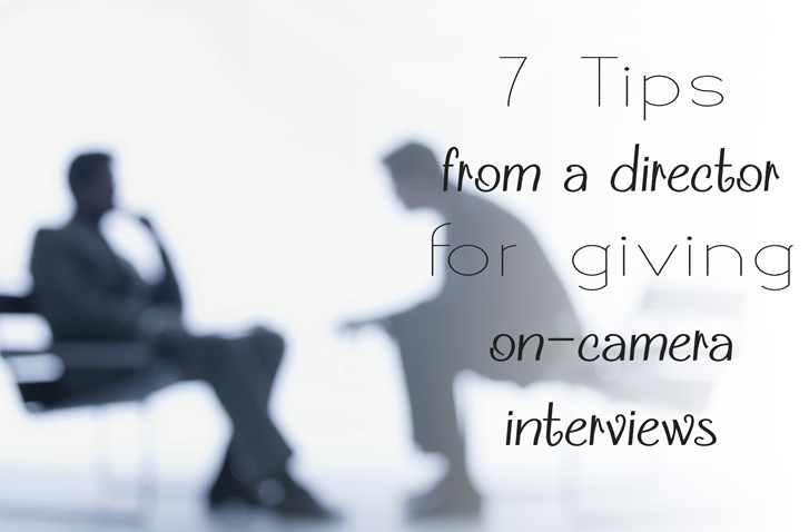 Tips for on camera interviews