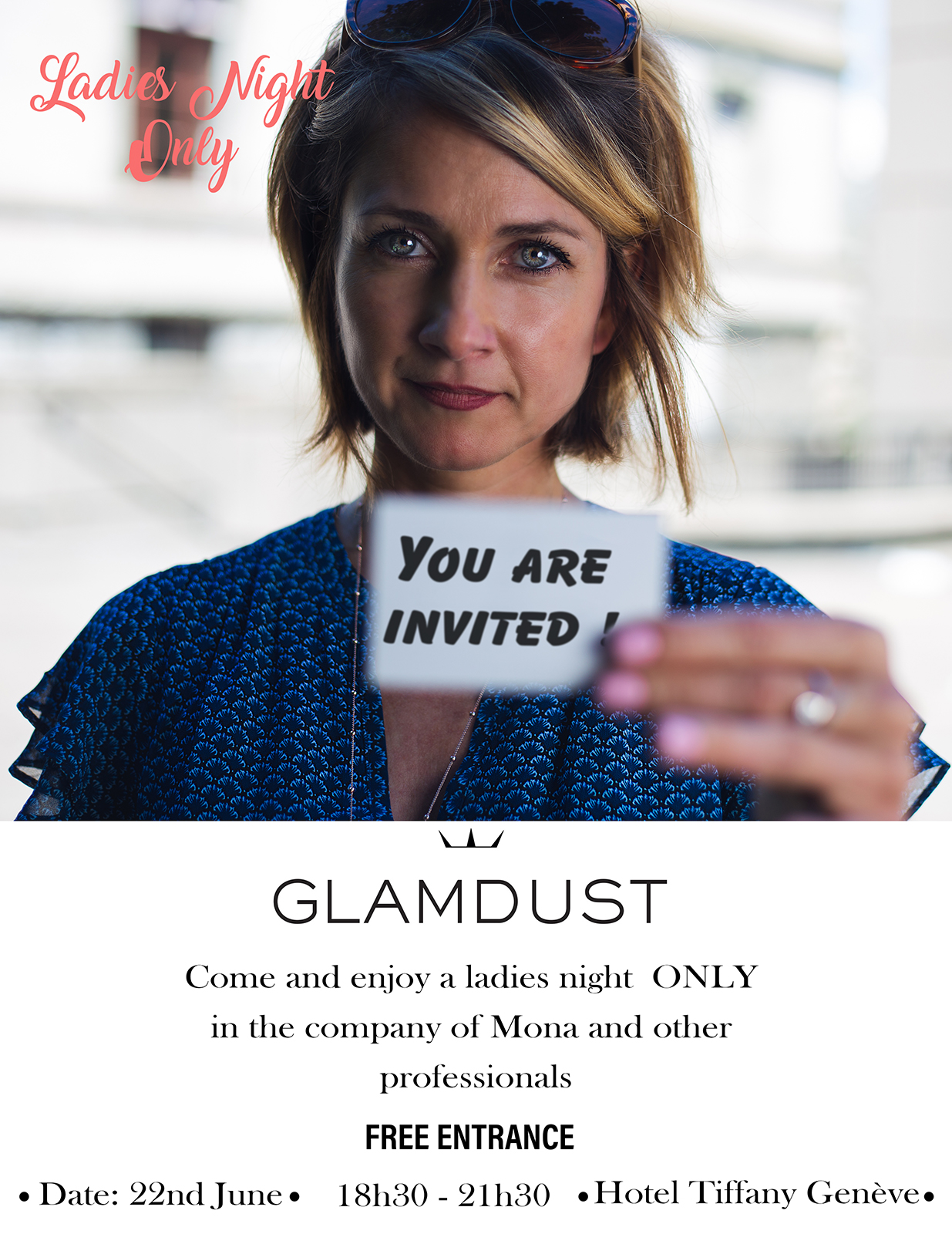 Makeup - Bijoux - Dresses Party for ladies only! - Mona our founder will be there to welcome and share with you her precious insights about matching your jewels to your outfit!It will also be a great occasion if you want to try on our new collection which will be fully exposed!