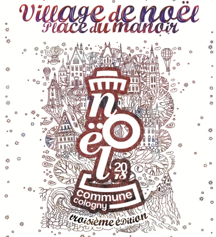 Village de noël - Cologny - 1-2 December 2018 - We'll be present at
