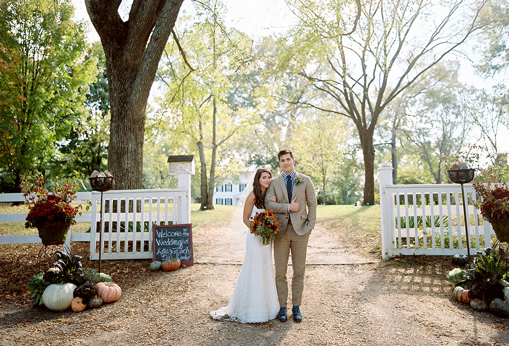 fall wedding at tuckahoe plantation