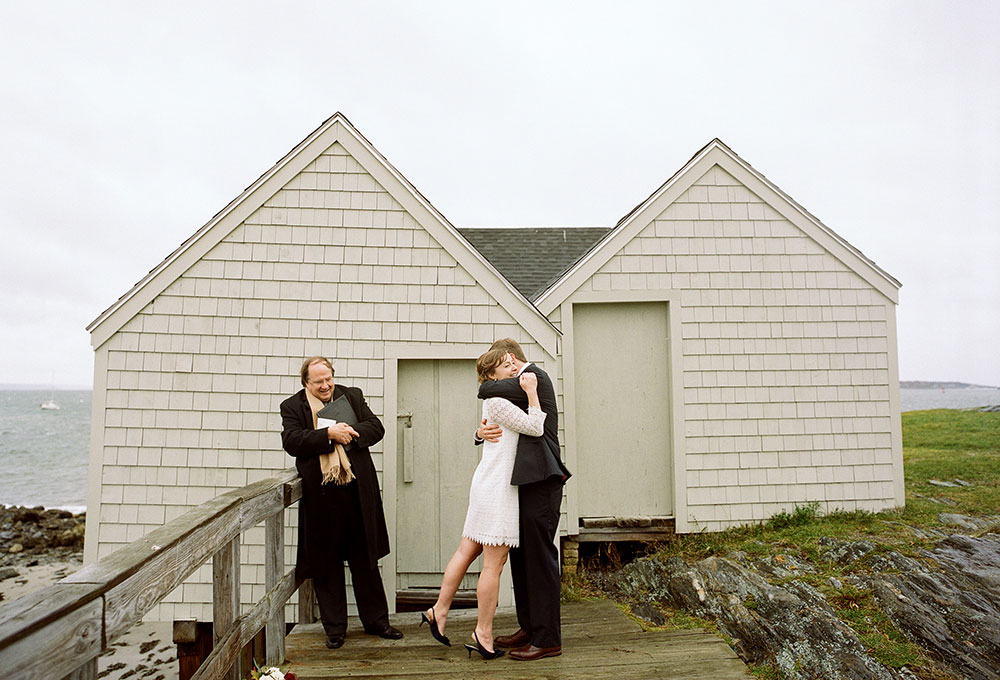 elopement on the coast of maine
