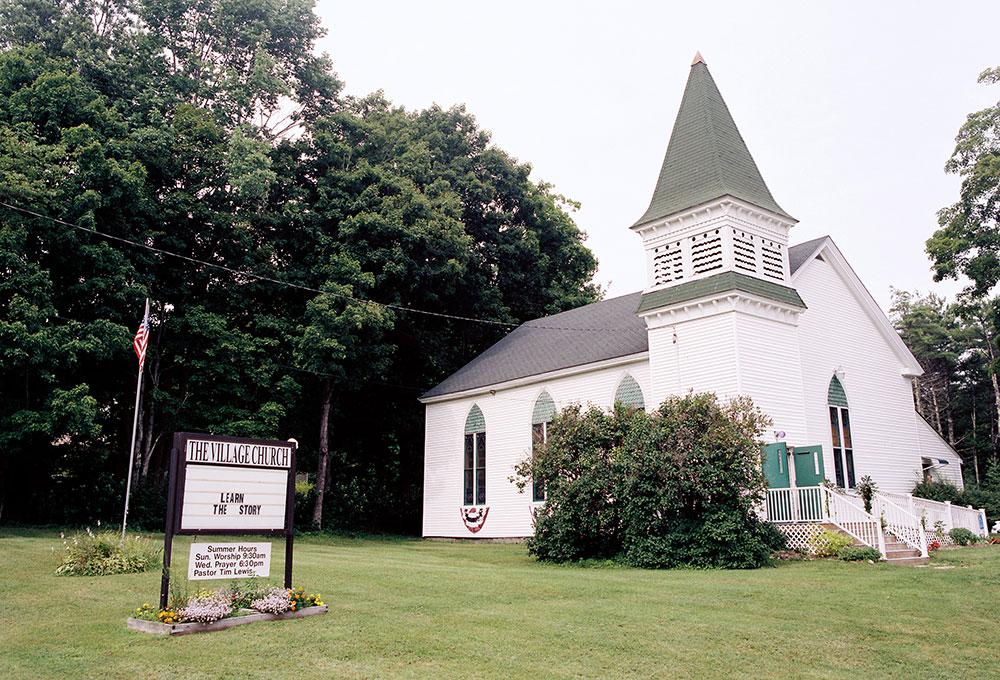 church ceremony site in washington maine