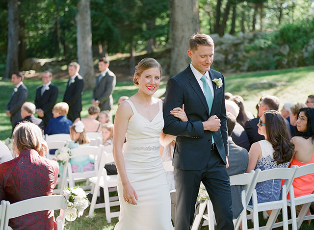 elizabeth and george are married!