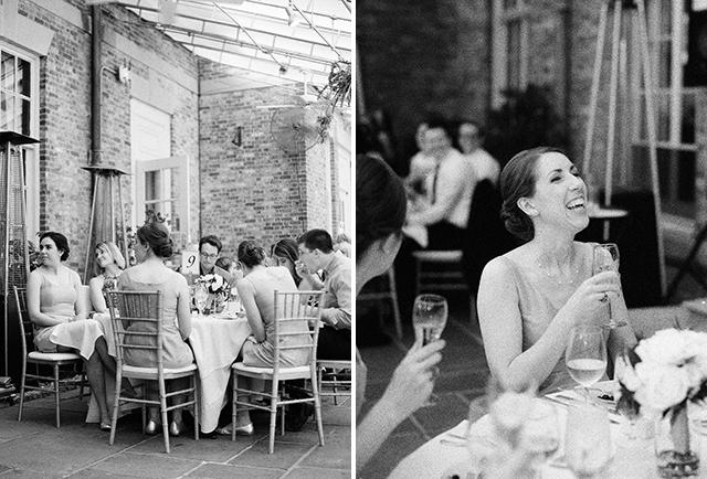 outdoor dinner venue for wedding reception - Sarah Der Photography