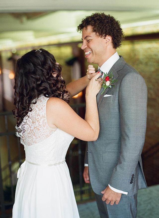 Indoor wedding venue in Atlanta Georgia - Sarah Der Photography