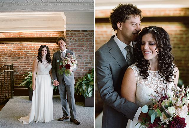 Sarah Seven bridal gown - Sarah Der Photography