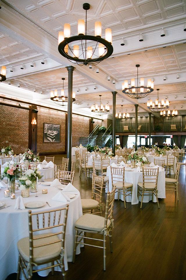 beautiful indoor wedding venue outside of Atlanta - Sarah Der Photography