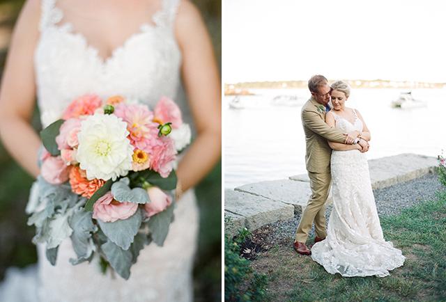 Little River Flower Farm wedding floral design - Sarah Der Photography