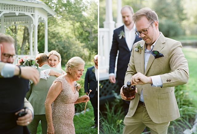 portland, maine wedding on block island - Sarah Der Photography