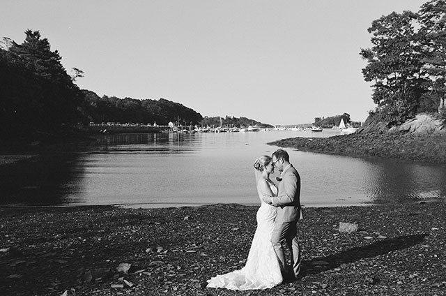 the couple is married - Sarah Der Photography