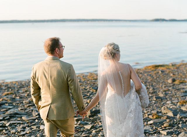 destination wedding photographer in portland, maine  - Sarah Der Photography