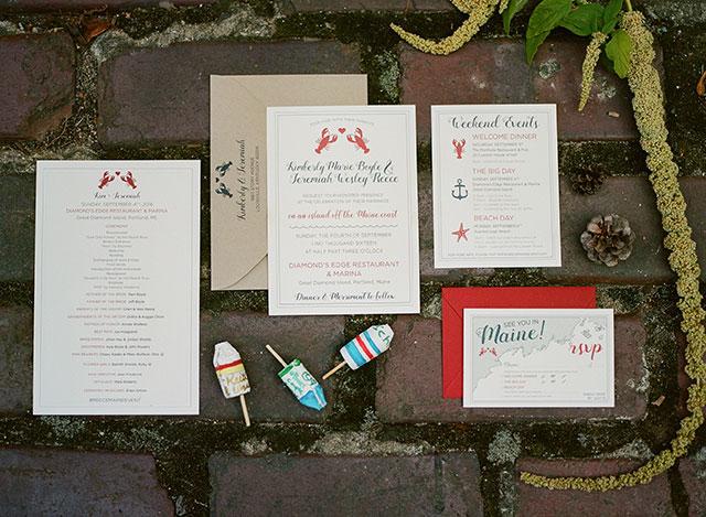 nautical wedding guestbook ideas - Sarah Der Photography