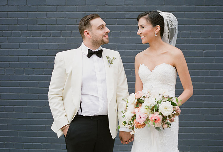 wedding day portraits in brooklyn, new york - Sarah Der Photography