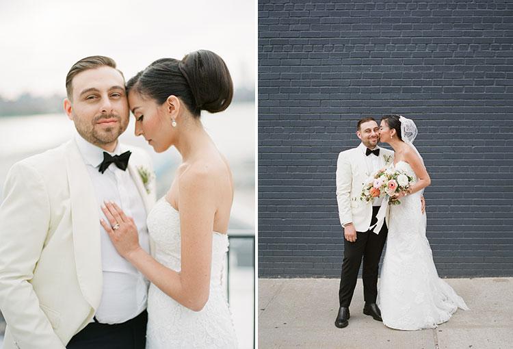 modern and elegant wedding in Williamsburg - Sarah Der Photography