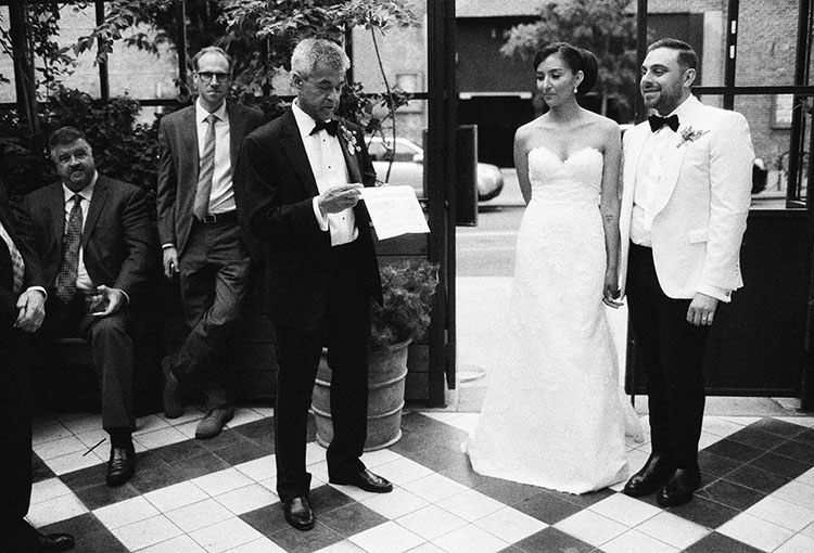 Toasts at Wythe Hotel - Sarah Der Photography